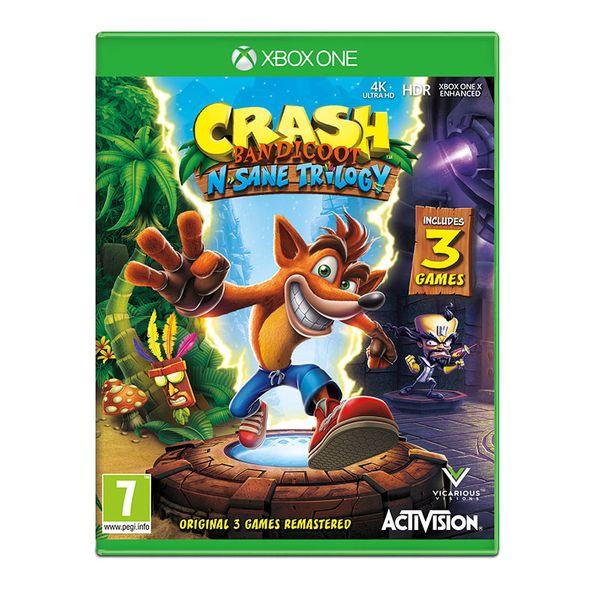 Activision Crash Bandicoot N' Sane Trilogy