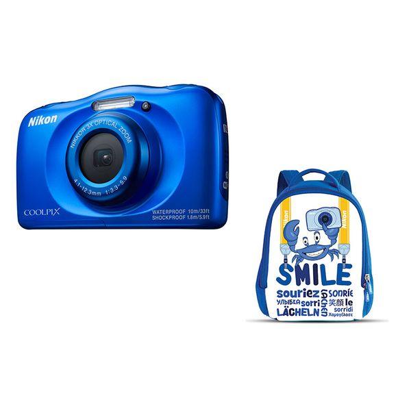 Nikon W100 Blue & Τσάντα