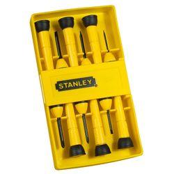 Stanley Σετ 6τμχ Κατσαβίδια Ακριβείας 0-66-052