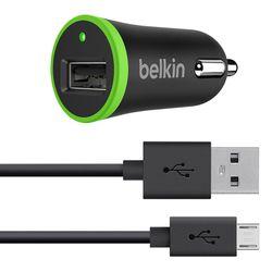 Belkin Φορτιστής Αυτοκινήτου Micro USB Black