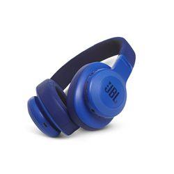 JBL E55BT Blue Bluetooth
