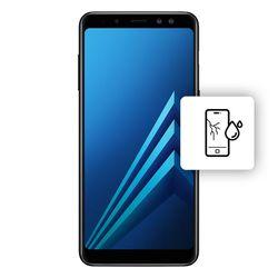 Αλλαγή Οθόνης Samsung Galaxy A8 Black με Αδιαβροχοποίηση