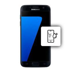Αλλαγή Οθόνης Samsung Galaxy S7 Black με Αδιαβροχοποίηση