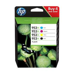HP Multipack 953XL Black/Cyan/Magenta/Yellow (3HZ52AE)