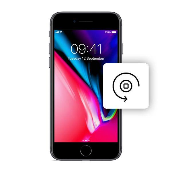 Αλλαγή Κεντρικού Πλήκτρου iPhone 8 Black