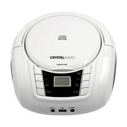 Crystal Audio Boombox BMBU2W White