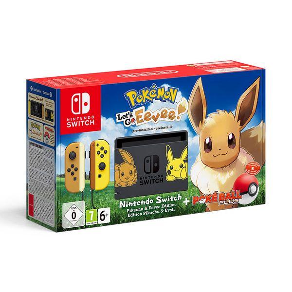 Nintendo Κονσόλα Switch & Pokemon: Let`s Go Eevee!