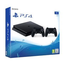 Sony PS4 1TB Slim F Chassis & 2nd Dualshock 4