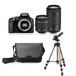 Nikon D3500 AF-P DX 18–55 VR & AF-P DX 70–300 VR Special Kit
