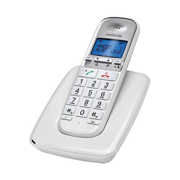 Motorola  S3001 GR White