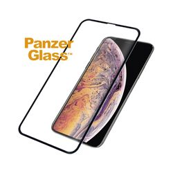 PanzerGlass 3D Full Glue Tempered Glass iPhone XS Max Black