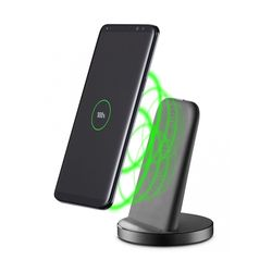 Cellular Line Wireless Fast Charger Stand 5V Black