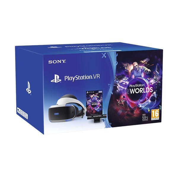 Sony PlayStation VR MK4 & Camera V2 & VR Worlds