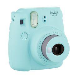 Fuji Instax Mini 9 Ice Blue & Θήκη & Film Instax New