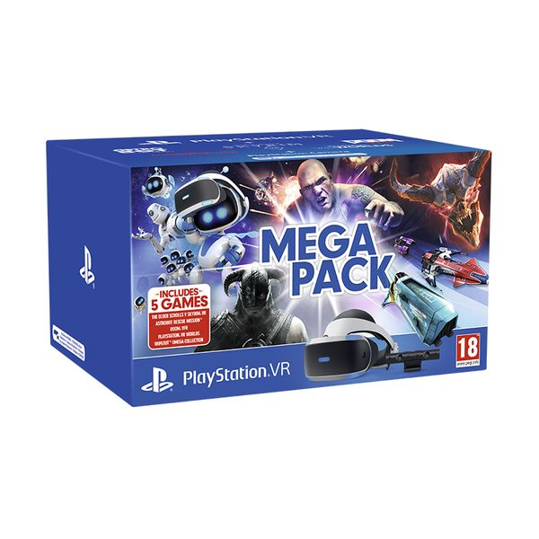 Sony PlayStation VR MK Mega Pack