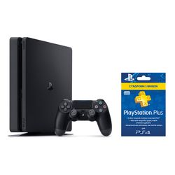 Sony PS4 500GB Slim & Playstation Plus 90 Days