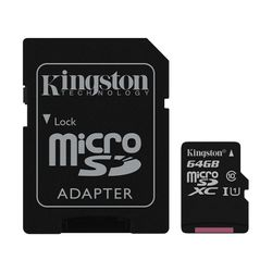 Kingston Canvas Select 64GB MicroSD XC