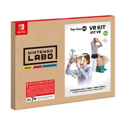 Nintendo Labo VR Kit Expansion Set 2 (Bird + Wind Pedal)