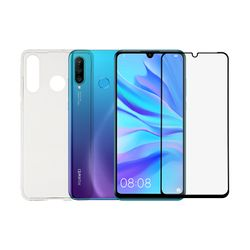 Redshield Set Huawei P30 Lite TPU Case & Tempered Glass