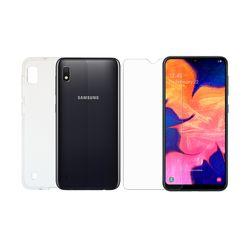 Redshield Set TPU Samsung Galaxy A10 Θήκη & Tempered Glass