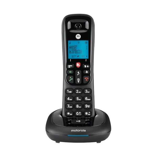 Motorola  CD4001 Black