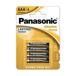 Panasonic Alkaline Power Bronze AAA 4τμχ