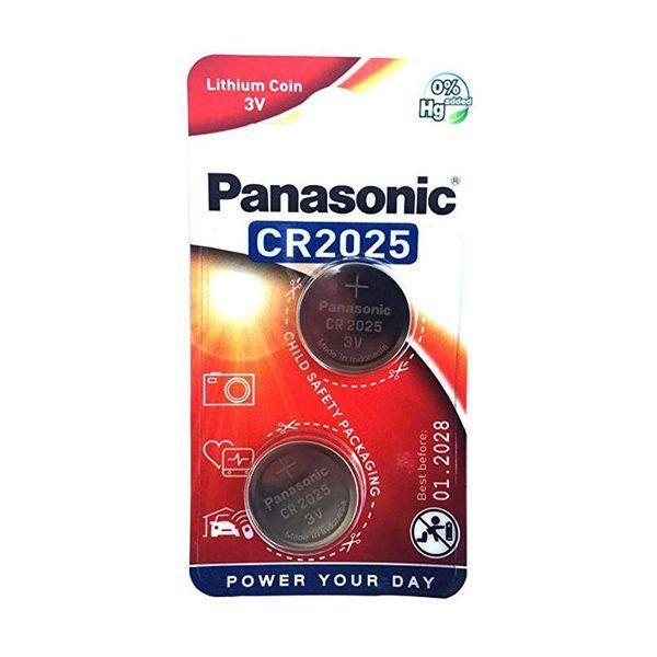 Panasonic Lithium Coin CR2025L 2τμχ