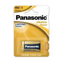 Panasonic Alkaline Power Bronz (9V) 1Τμχ