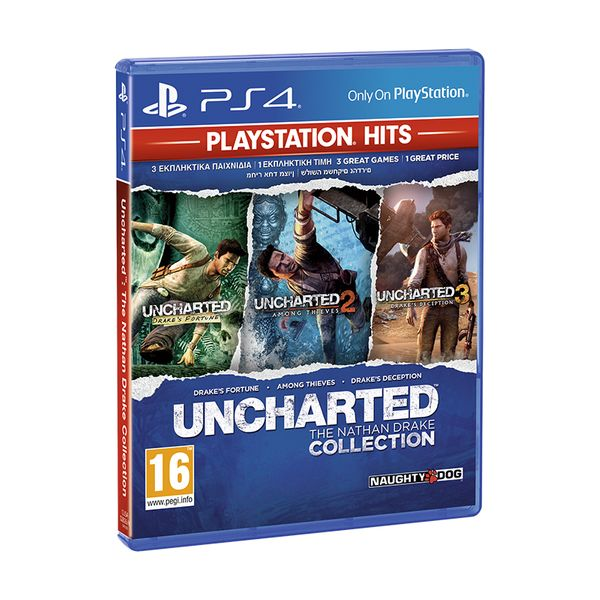 Uncharted Η Συλλογή του Nathan Drake PS Hits