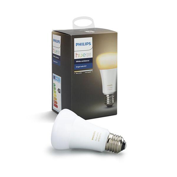 Philips Hue Smart Light Bulb 9.5W A60 E27 White Ambiance 1-pack