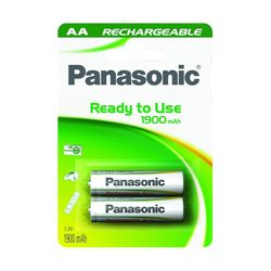 Panasonic ΑΑ Ready to Use 1900mAh 2τεμ