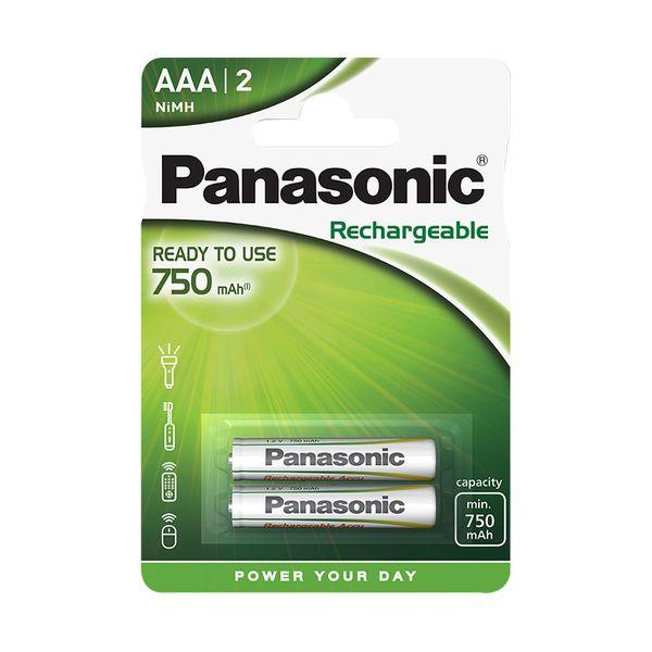 Panasonic ΑΑA Ready to Use 750mAh 2τεμ