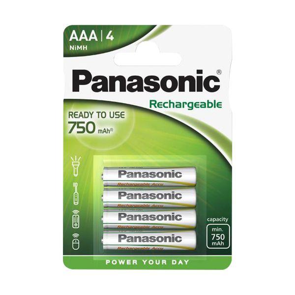 Panasonic ΑΑA Ready to Use 750mAh 4τεμ