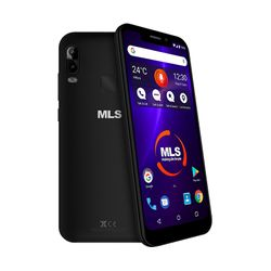 MLS Notch Lite 4G Black Dual Sim
