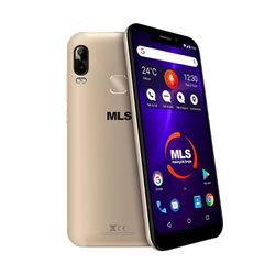 MLS Notch Lite 4G Gold Dual Sim