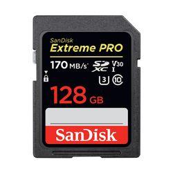 Sandisk Extreme Pro 128GB 170MB/s SDXC UHS-I