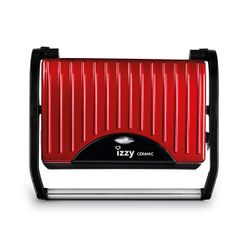 Izzy 223074 Spicy Red Panini Ceramic