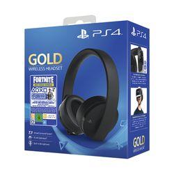 Sony Gold Wireless Headset & Fortnite VCH
