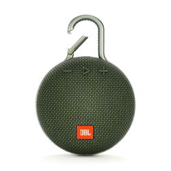 JBL Clip 3 IPX7 Green Waterproof