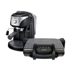 Φοιτητικό Πακέτο Kenwood Τοστιέρα & Delonghi Μηχανή Espresso