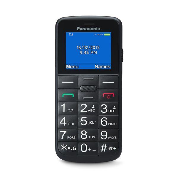 Panasonic KX-TU110EXB Black Dual Sim
