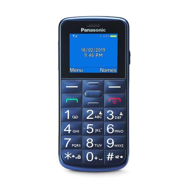 Panasonic KX-TU110EXC Blue Dual Sim