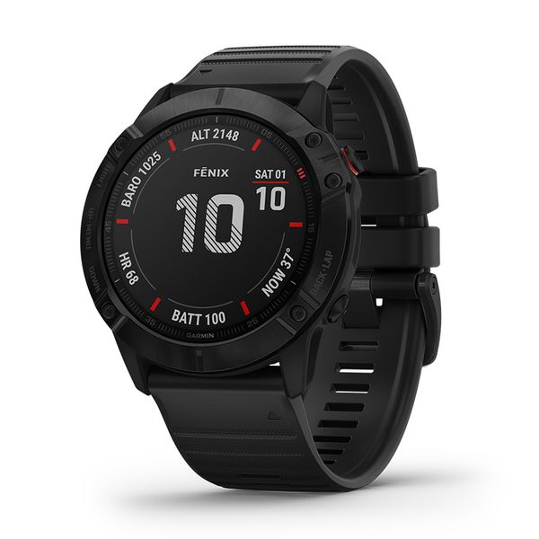 Garmin Fenix 6X Pro Black/Black Band