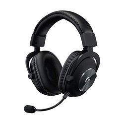 Logitech G PRO X- Wired with BLUE VO!CE- Black