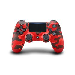 Sony Dualshock 4 Wireless Controller Red Camouflage