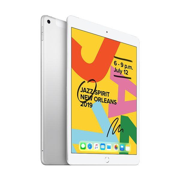 """Apple iPad 7th Gen 10.2"""" 128GB Cellular Silver"""