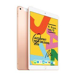 "Apple iPad 7th Gen 10.2"" 128GB Cellular Gold"