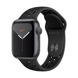 Apple Watch Nike Series 5 40mm Space Gray Aluminium with Nike Sport Band Black