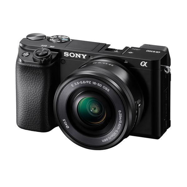 Sony ILCE6100L 16-50mm Black