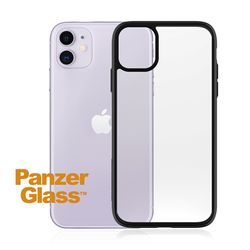 PanzerGlass ClearCase iPhone 11 Black Edition